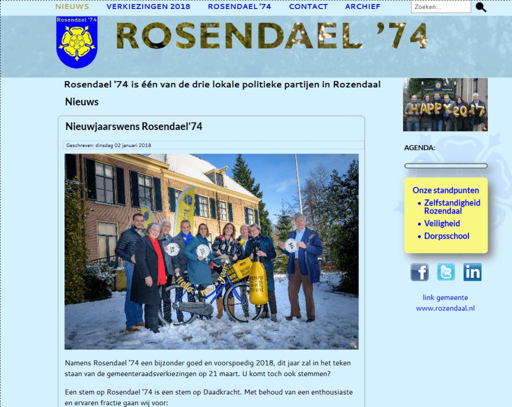 Rosendael '74