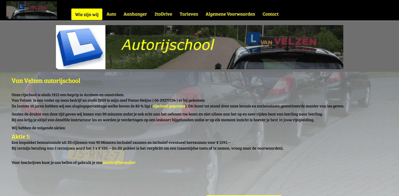 Van Velzen Autorijschool